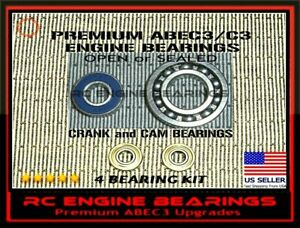 YS 91 AC AIR CHAMBER & CAM  YS FZ110 OS FS 110 Alpha FS 81A  RC ENGINE BEARINGS