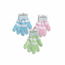 1Pair Bath Shower Soap Foam Gloves Exfoliating Massager Body Wash Scrub Spa Skin