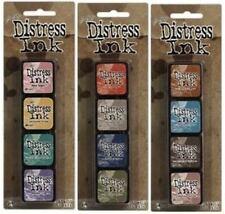 Tim Holtz MINI DISTRESS INK PADS SETS 4, 5 , & 6 Ranger in stock!