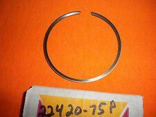 HARLEY AERMACCHI  AMF  NOS  #22420-75P PISTON RING MX 250