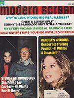 MAY 1975 --- MODERN SCREEN vintage movie collectors magazine - STEVE MCQUEEN