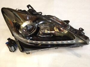 *NEW 2011-2013 LEXUS IS350 IS250 ISF HID XENON LED HEADLIGHT OEM PASSENGER RIGHT
