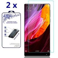 [2-Pack] For Xiaomi Mi Mix Premium Tempered Glass Screen Protector