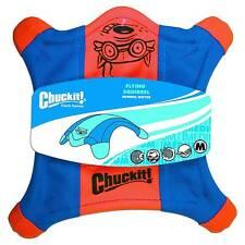 Chuckit Flying Squirrel Dog Fetch Toy Floating Flyer Glowing Paws Choose Size 77744 Medium 10-inch