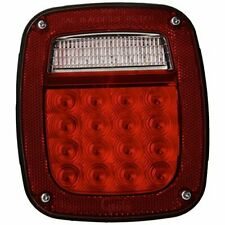 Grote G5202 Hi Count LED Box Lamp Red Color Right Hand with Side Maker