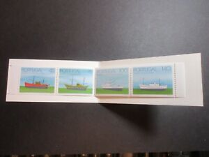 STAMP BOOK, UNUSED COMPLETE, PORTUGAL, SHIPS, 4 VALUES EXCELLENT