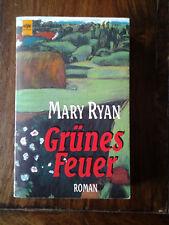 """Irische Familien- und Frauensaga """"Grünes Feuer"""", Mary Ryan, 1995"""