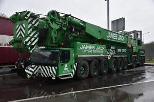WSI 71-2032 1:87 James Jack Lifting Liebherr LTM 1750 9-Axle Mobile Crane