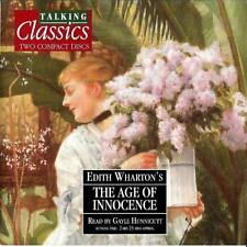The Age Of Innocence,Talking Classics Audio book 2cd set - Gayle Hunnicutt