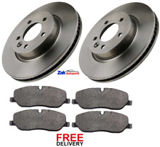 FOR LAND ROVER DISCOVERY 3 2.7 TD V6 FRONT BRAKE DISCS & PADS SET NEW