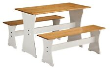 CORONA Mexican Budget Dinette Set Distressed Waxed Pine