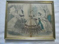 Gettysburg Civil War era Print Capewell & Kimmel Sc Fashions For Ladies Dresses