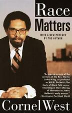 RACE MATTERS by Cornel West FREE SHIPPING paperback book civil rights cornell