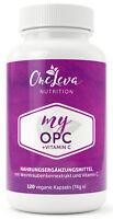 My OPC + Vitamin C 120 Kapseln 450 mg Premium Traubenkern aus Frankreich