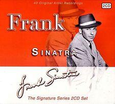 NEW 2CD // Frank Sinatra: The Signature Series 2 CD Set 40 tracks on 2 CD's - I
