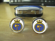 HMS BATTLEAXE CUFFLINKS