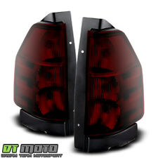 Dark Smoked 02-09 Gmc Envoy Oe Style Tail Lights Brake Lamp Left+Right 2002-2009 (Fits: More than one vehicle)