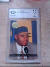 1994 Classic Images Football Jerome Bettis Card #26 BCCG GRADED 10 - ROOKIE RC