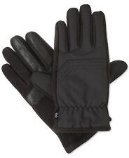 $175 Isotoner Men Gray Thermaflex Smartouch Nylon Top Stitching Winter Gloves L