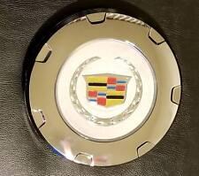"""1 pc 2007-2015 cadlac escalade color crest 22"""" wheel center cap chrome 9597355"""