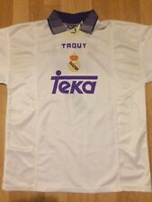 REAL MADRID Retro / Vintage  #7 RAUL Taquy shirt jersey Teka Medium