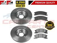 FOR JEEP GRAND CHEROKEE WG WJ FRONT BRAKE DISCS DISC PADS 99-04 AKEBONO