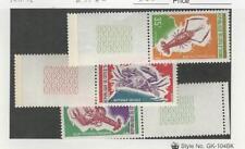 Ivory Coast, Postage Stamp, #302, 309, 313 Mint NH, 1971-72 Shell Fish, JFZ