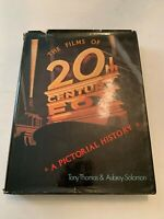 1979 The Films Of 20th Century Fox A Pictorial History 1st Edition Hardcover