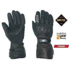GORE-TEX Exact Leather Motorcycle Gloves with Visor Wipe