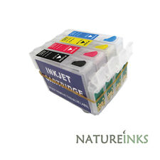 4 refill refillable ink cartridges T1285 ( T1281 T1282 T1283 T1284 )