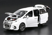 New Honda Odyssey MPV 1:32 Metal Diecast Model Car Toy Collection Sound&Light