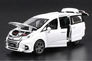 New Honda Odyssey MPV 1:32 Metal Diecast Model Car Toy Collection Sound&Light