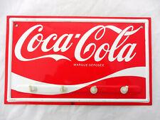 COCA COLA® ACCROCHE TORCHONS OU PORTE CLES EMAIL 30 cm x 18 cm