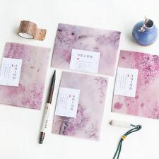 3pcs Flower Paper Envelope Wedding Gifts Invitation Postcards Cover Letter Set