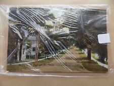 Old Postcard Unposted Writing on Back Oxford St Ingersoll Ontario Canada