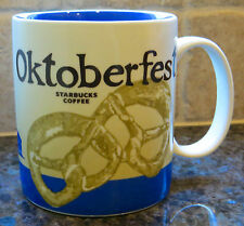 NWT Starbucks 2012 OKTOBERFEST Munchen Germany Global Icon City Collector Mug
