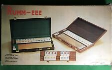 Rumm-eee Classic Game With Attache Case Complete In Box