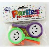 PLASTIC TOY PADDLE DRUMS PACK OF 4 PARTY LOOT BAG FILLER TOY GIFT PINATA FILLER