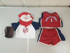Build-A-Bear Lot of 2 Teddy Sports Costume Clothes