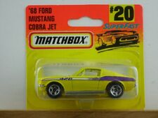'68 Ford Mustang Cobra Jet (69-H/20-G) - 60439 Matchbox MB75