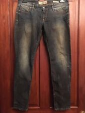 Womens Skinny Jeans GUESS Beverly Style L30 W34 Zip Ankles (B25)