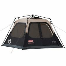 Coleman 4-Person Cabin Tent with Instant Setup for Camping Sets Up in 60 Seconds