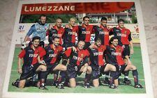 FIGURINA CALCIO 99 MERLIN'S LUMEZZANE SQUADRA ALBUM MERLIN
