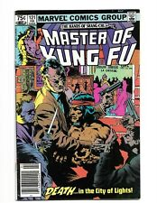 Master Of Kung-Fu 121 Canadian Newsstand Price Variant CPV Marvel 1983 VG/FN