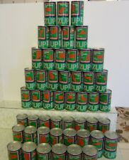 7-UP 1976 Bicentennial Uncle Sam 12oz. tin cans 50 can set