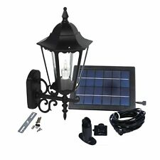 Large Elegant Outdoor Solar powered Led Garden Wall Light Lamp Sl-7402