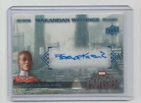 Marvel Black Panther Autograph Trading Card WW-FK Florence Kasumba as Ayo