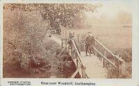 POSTCARD VIEW NEAR WOODMILL - SOUTHAMPTON   -  CIRCA 1905  - RP