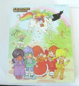 "1983 Golden Rainbow Brite 200 Piece Puzzle 14"" x 18"" Complete Vintage K"