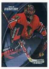 2002-03 BAP SIGNATURE JOCELYN THIBAULT AUTO CHICAGO BLACKHAWKS #43